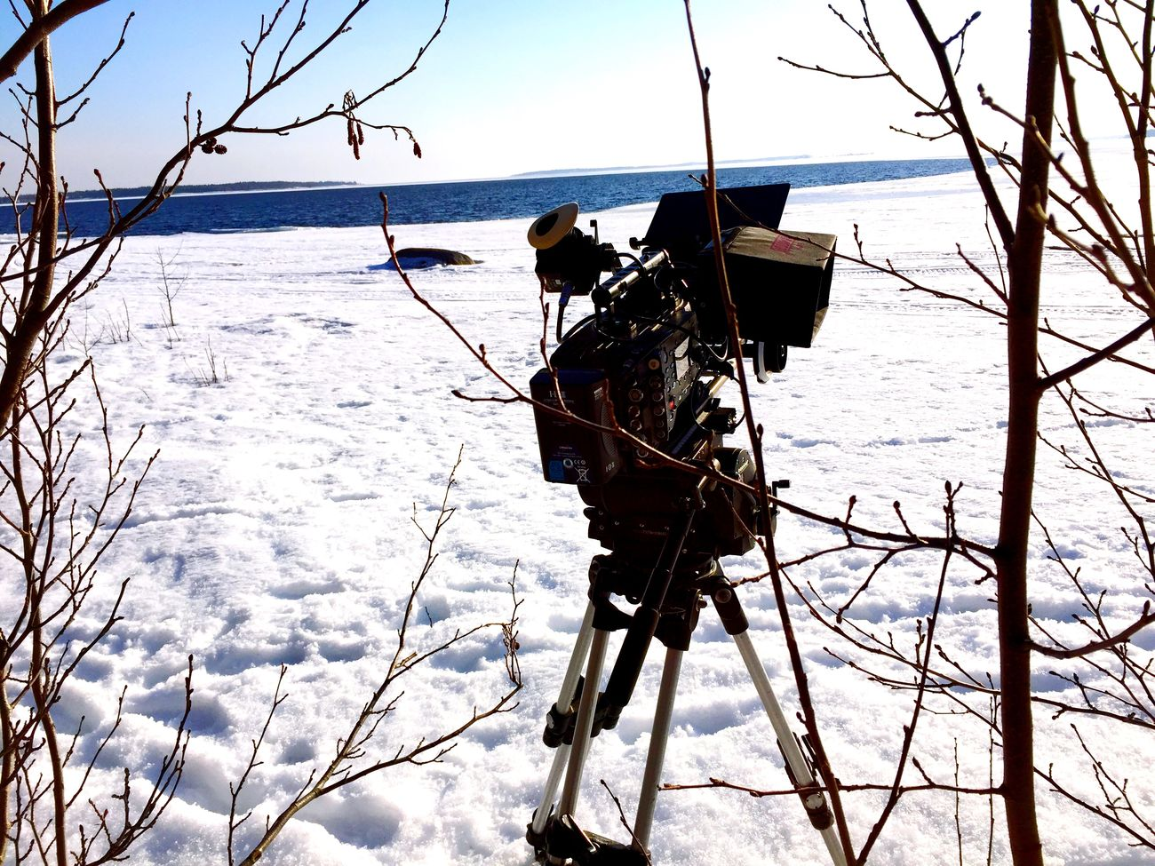 Film Gear Arri Alexa Plus Snow ❄ Focus Puller Setlife Luleå  1-AC Love ARRI