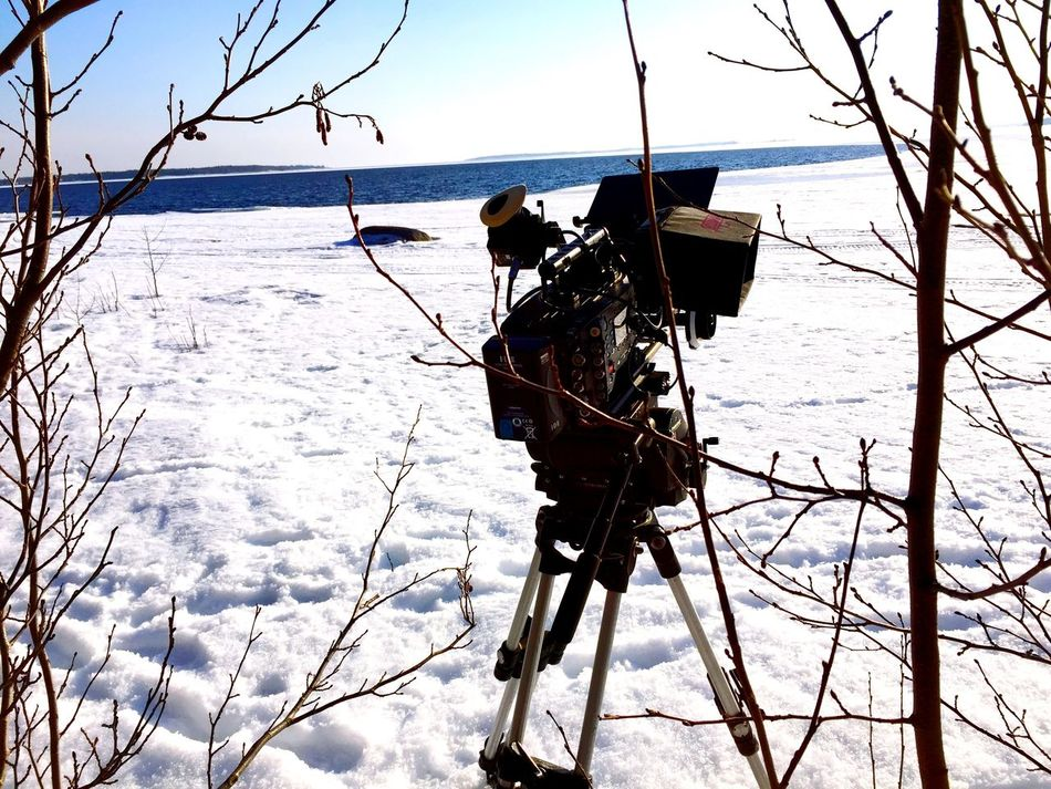 Film Gear Arri Alexa Plus Snow ❄ Focus Puller Setlife Luleå  1-AC Love ARRI