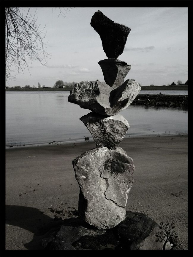 All Is In Balance Check Out This World With A Diffrent View Or Not I M Enjoying Life Make Magic Happen Black And White Monochrome My Artwork