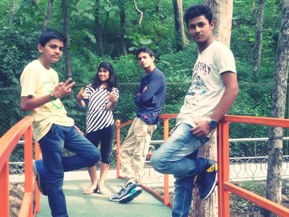 At Mandev garden.. Super Sunday..Rathods