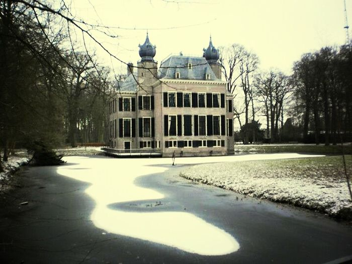 Building Castle Oegstgeest Poelgeest