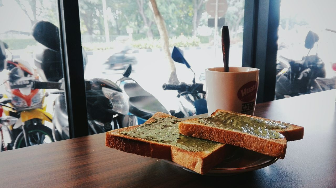 Breakfast Toastbread Matcha Coffee Kickstart