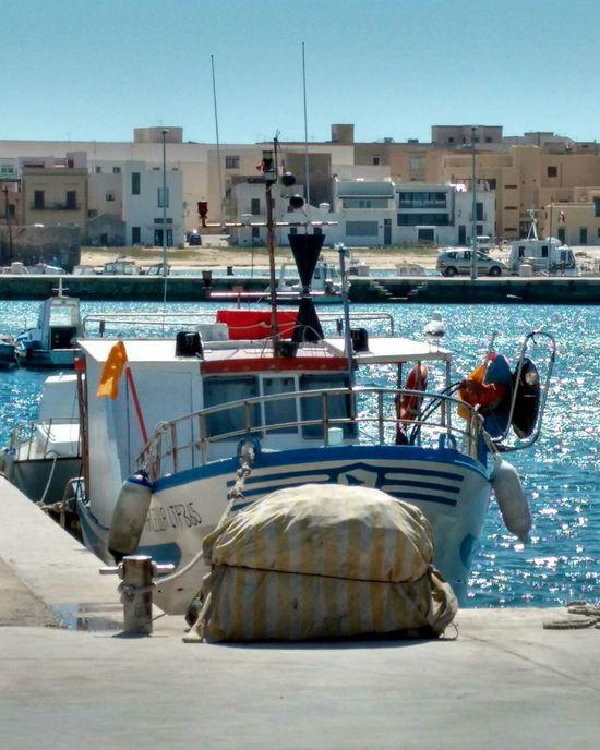 Barca Da Pesca Favignana Favignana's Sea Isole Egadi