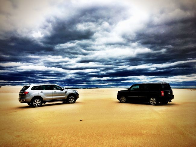 Cloudy Dunes Weather Storm Chasing