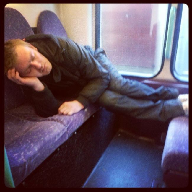 Yesterday saw this guy on the bus! Haha Whatisheonn Public Transportation Sleepy EyeEm Gallery