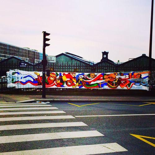 Paris Art Art Street Freestyle