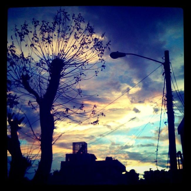And now the Sunset 7:24PM Sun Iphonegraph