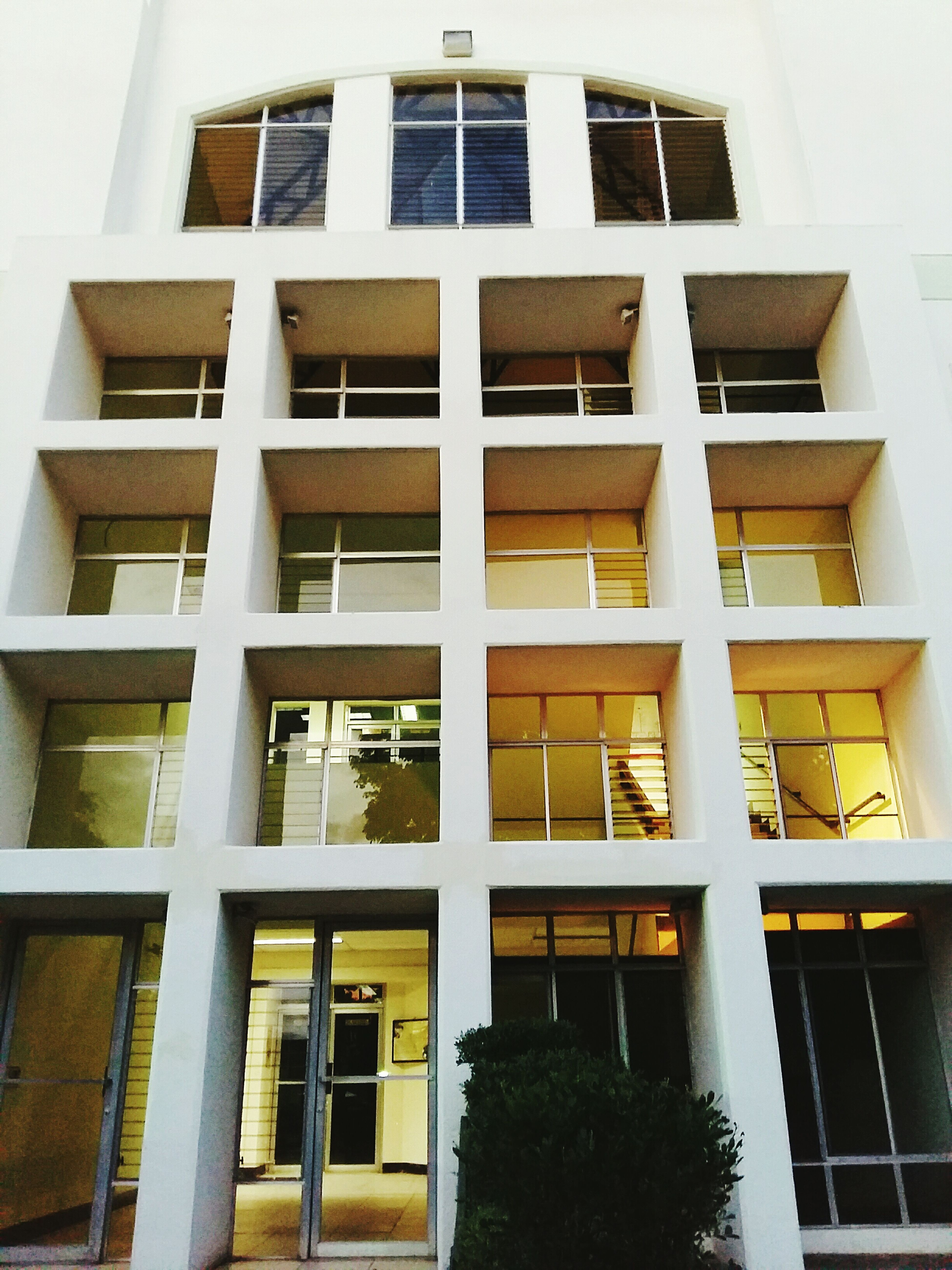 Arquitecture Windows White Bulding Contrast Photooftheday Streetphotography Light And Shadow College University