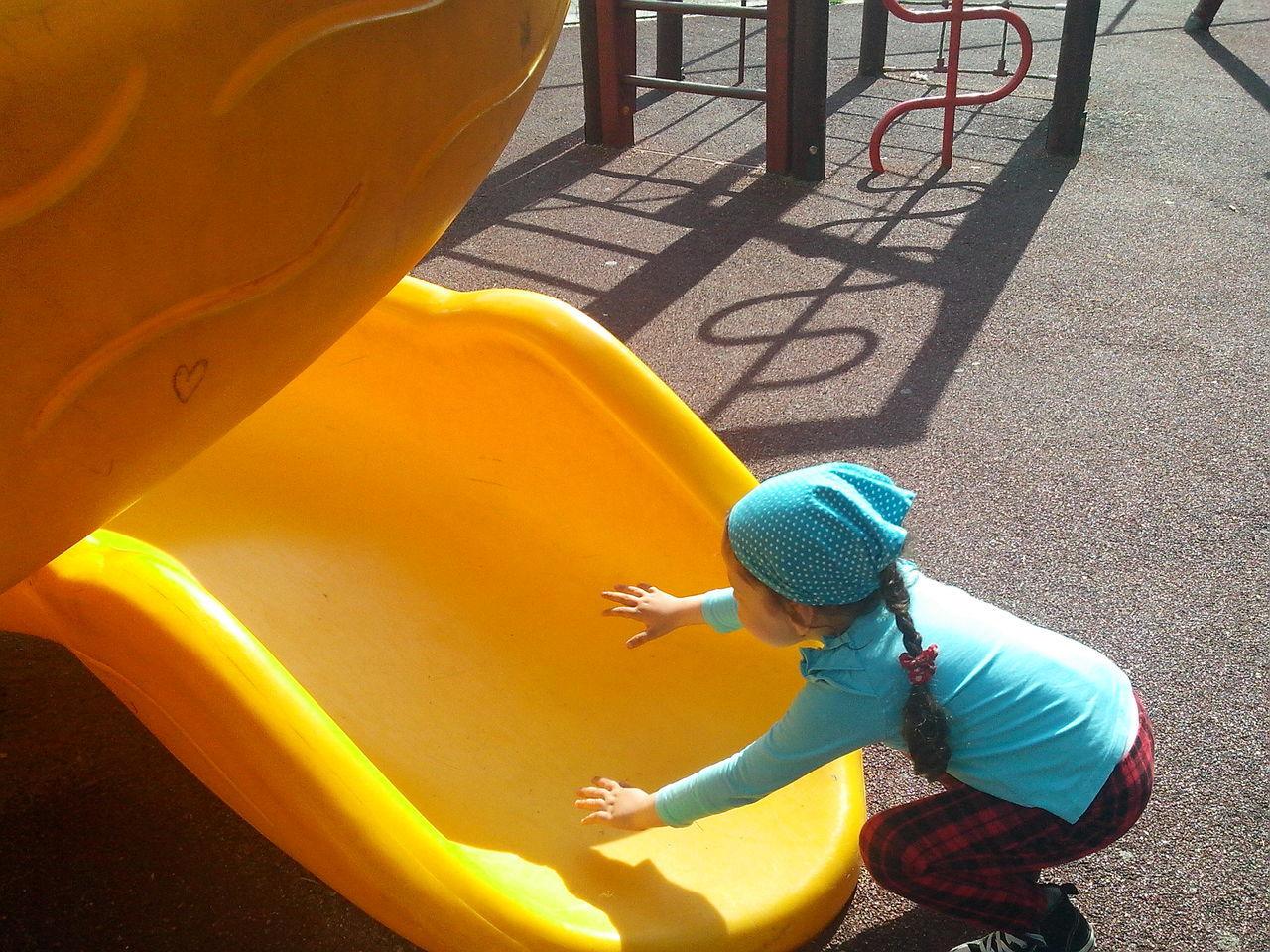 Yellow Playgrounds Fun With Kids EyeEmNewHere