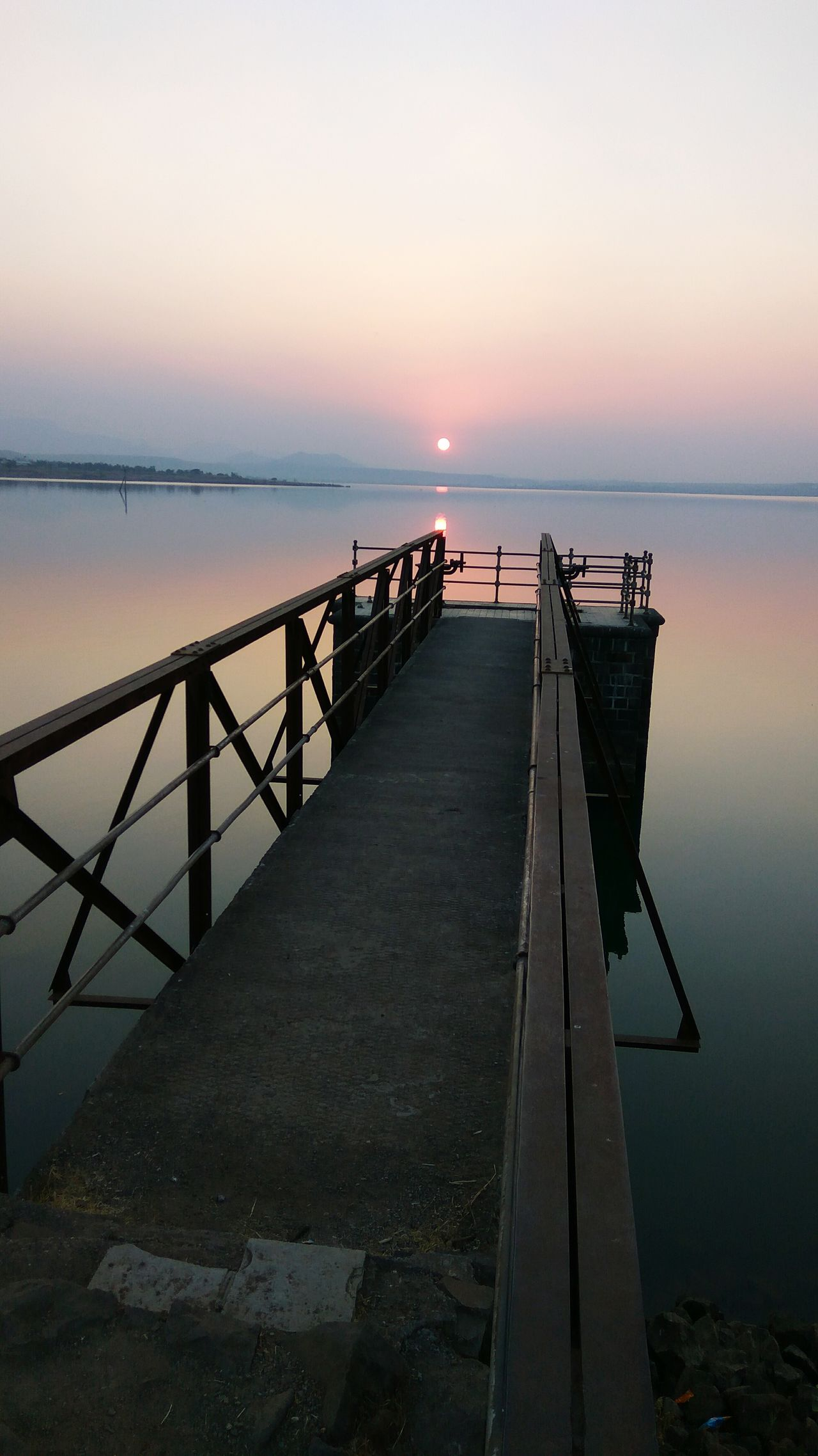 Tranquility Sunny Low Angle View Horizon Over Water Sky Day Landscape No People Sunset