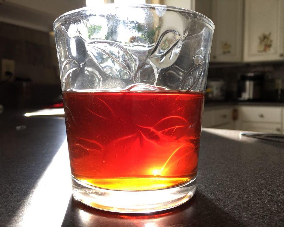 Great color tea Amber Tea Time Black Tea Warm