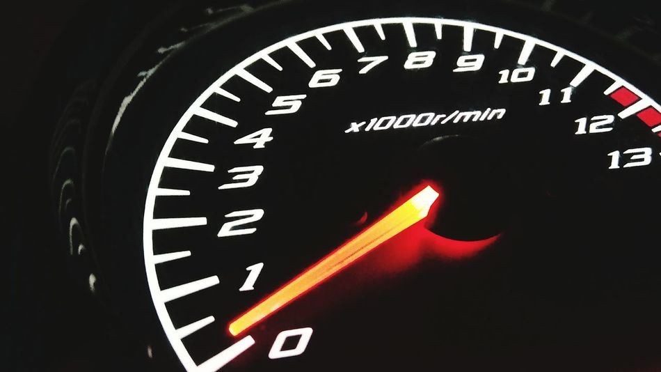 Speedometer Transportation Close-up Control Panel Clock Face No People Red Meter - Instrument Of Measurement Instrument Of Measurement Number Gauge Land Vehicle