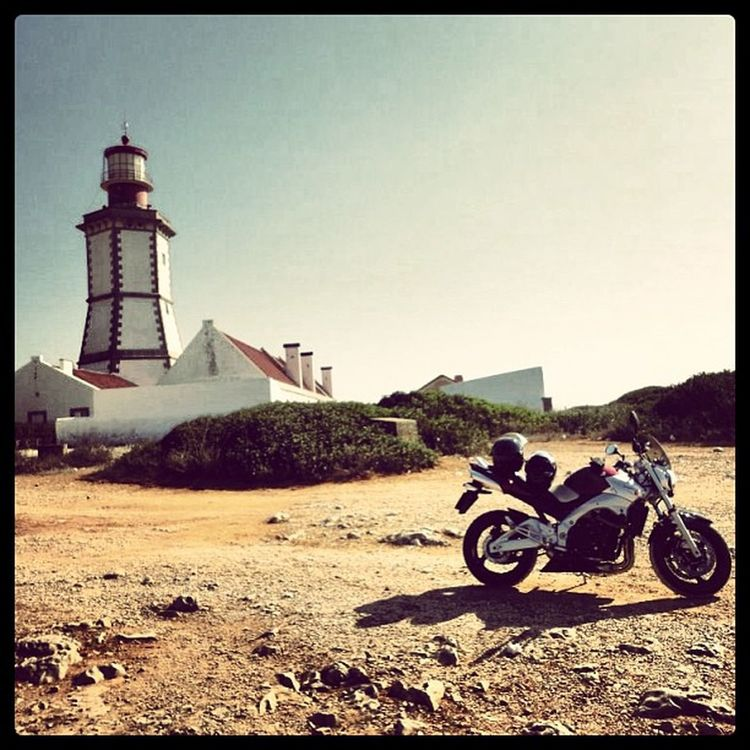 Another pic of Motorcycle trip to the Lighthouse of Cabo Espichel caboespichel