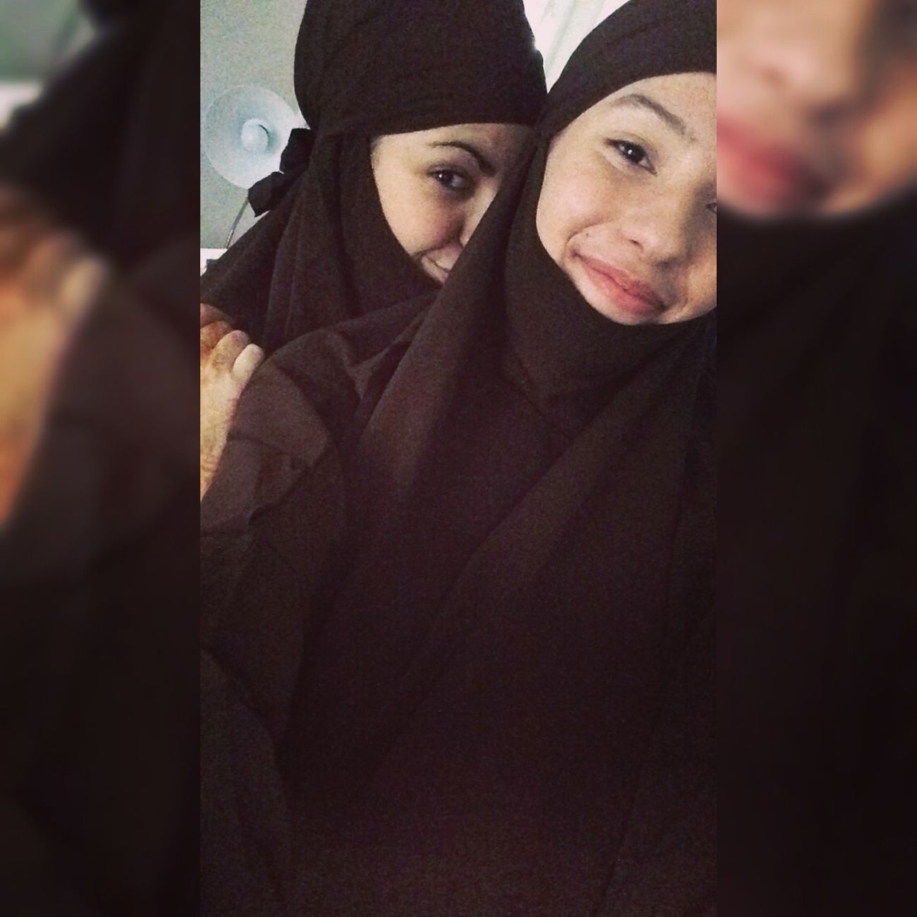 Salam Ukhty Jilbab Algerian Friends Muslimah 👭🙏🏽💘