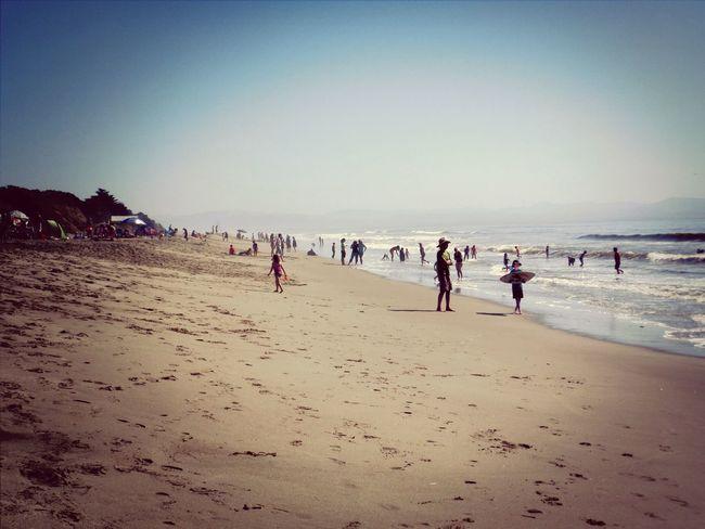 Manresa beach in October!