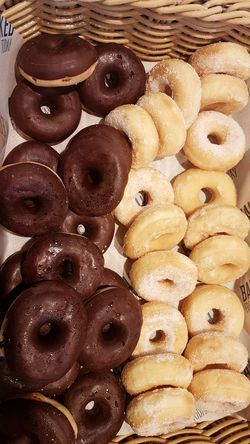 Full Frame Backgrounds Food And Drink No People Food Sweet Food Close-up Indoors  Freshness Day Dounuts Dounut Time!!! Chocolate