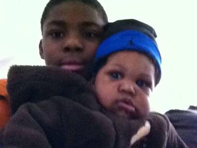 My Lil Bro & Amari <3