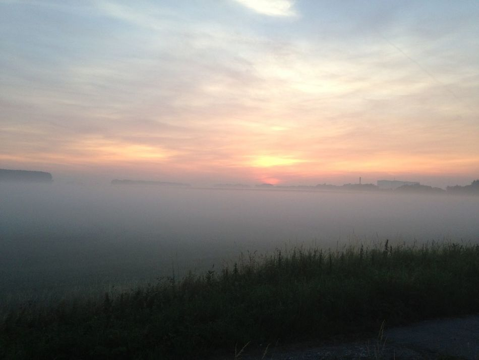 Just listen to the whispers of your heart, it will lead you through the mist.. Sunrise... Mist Thougts Melancholic Landscapes
