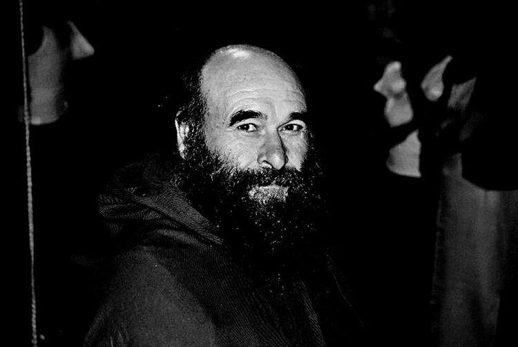 B&W Portrait Monk  Portrait People Photography Peoplephotography People_bw Ventimiglia Francescano Frate Francescano Monaco Francescano