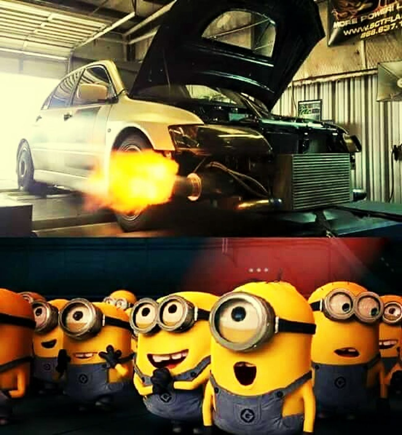Brapp 💥💥 Color Portrait Car Minions ♥♥ Taking Photos I Love Cars ♥