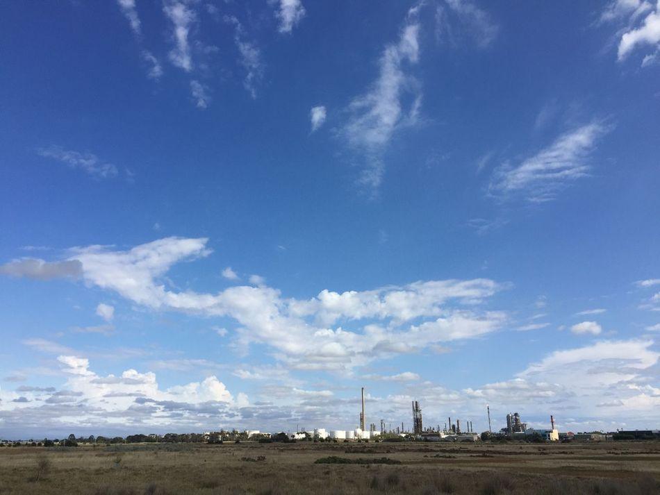 Al Altona Blackandwhite Blue Sky Cloud Cloud - Sky Cloudy Environmental Conservation Exploring Industrial No People Outdoors Silhouette Sky Weather