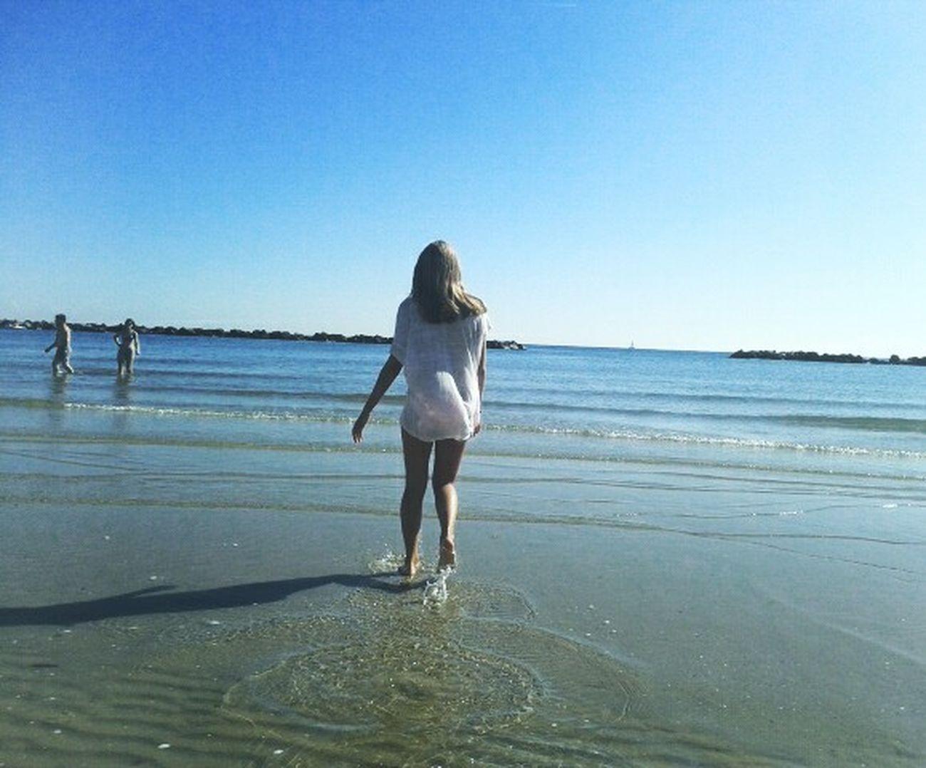 Sea Mare Sun Holiday Acqua Water Scappare Go Away