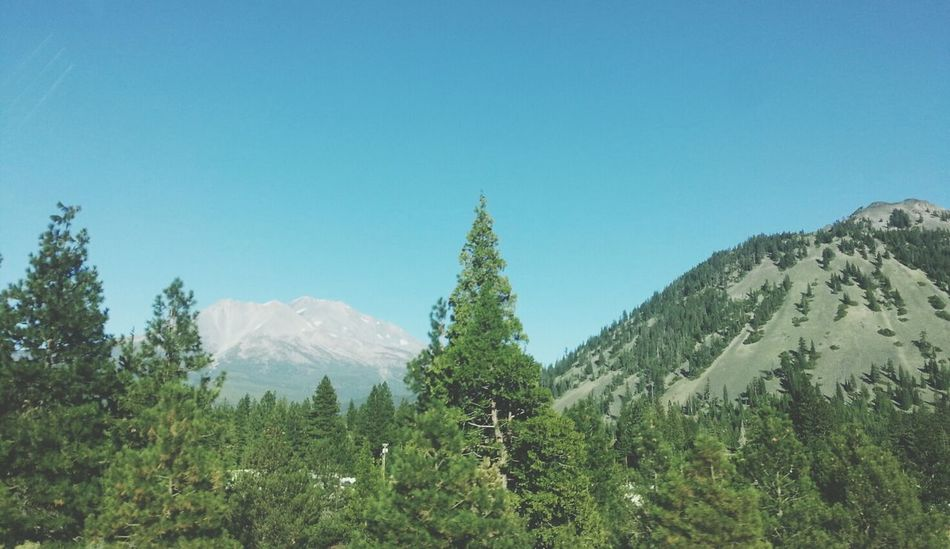 Mount Shasta Black Butte Mountains