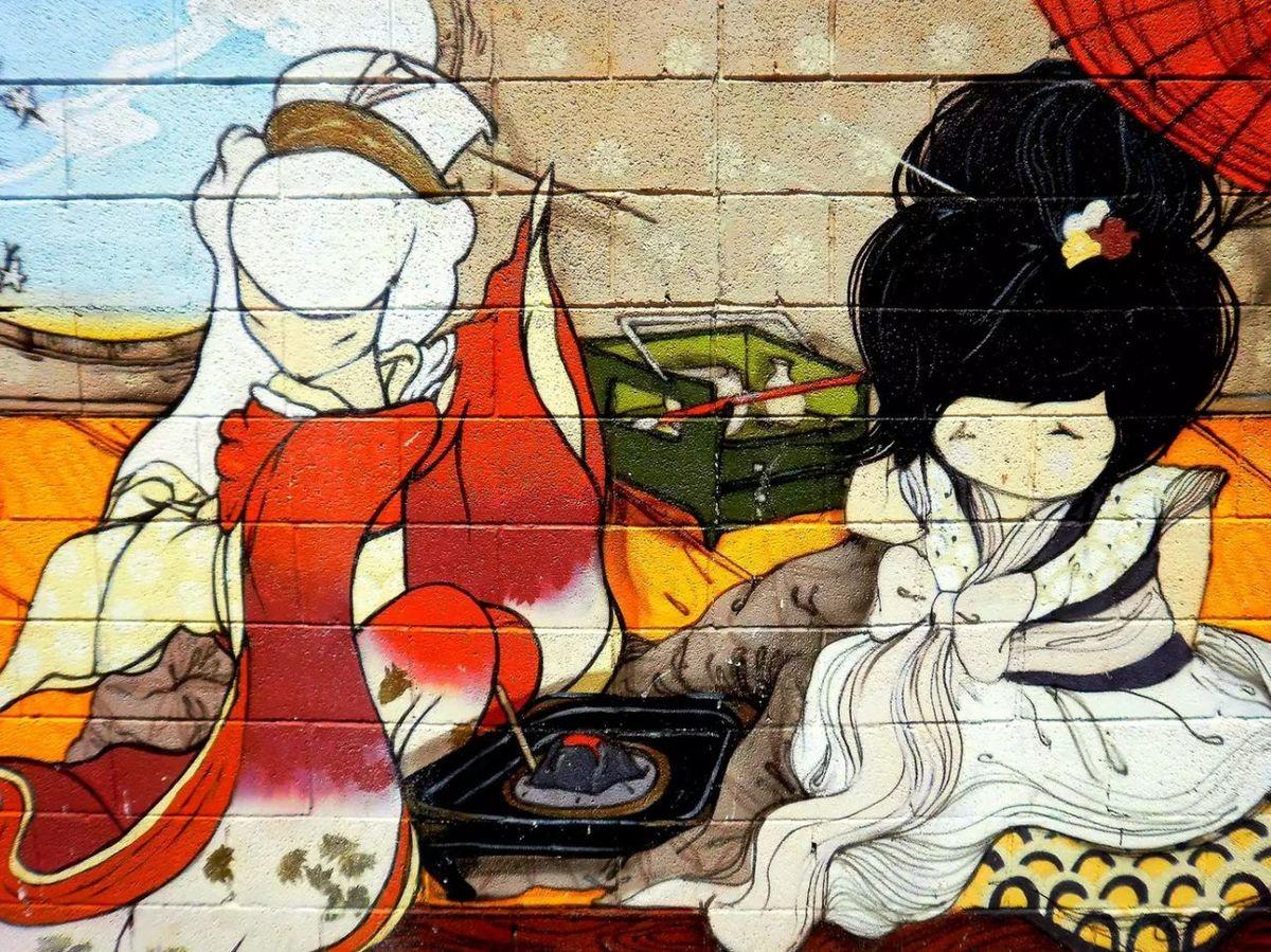 Indutry Crazypeople Grafitti Graffiti Photography Graffiti & Streetart Colors Wall Art Street Life Backgrounds Asianstyle Asian Art