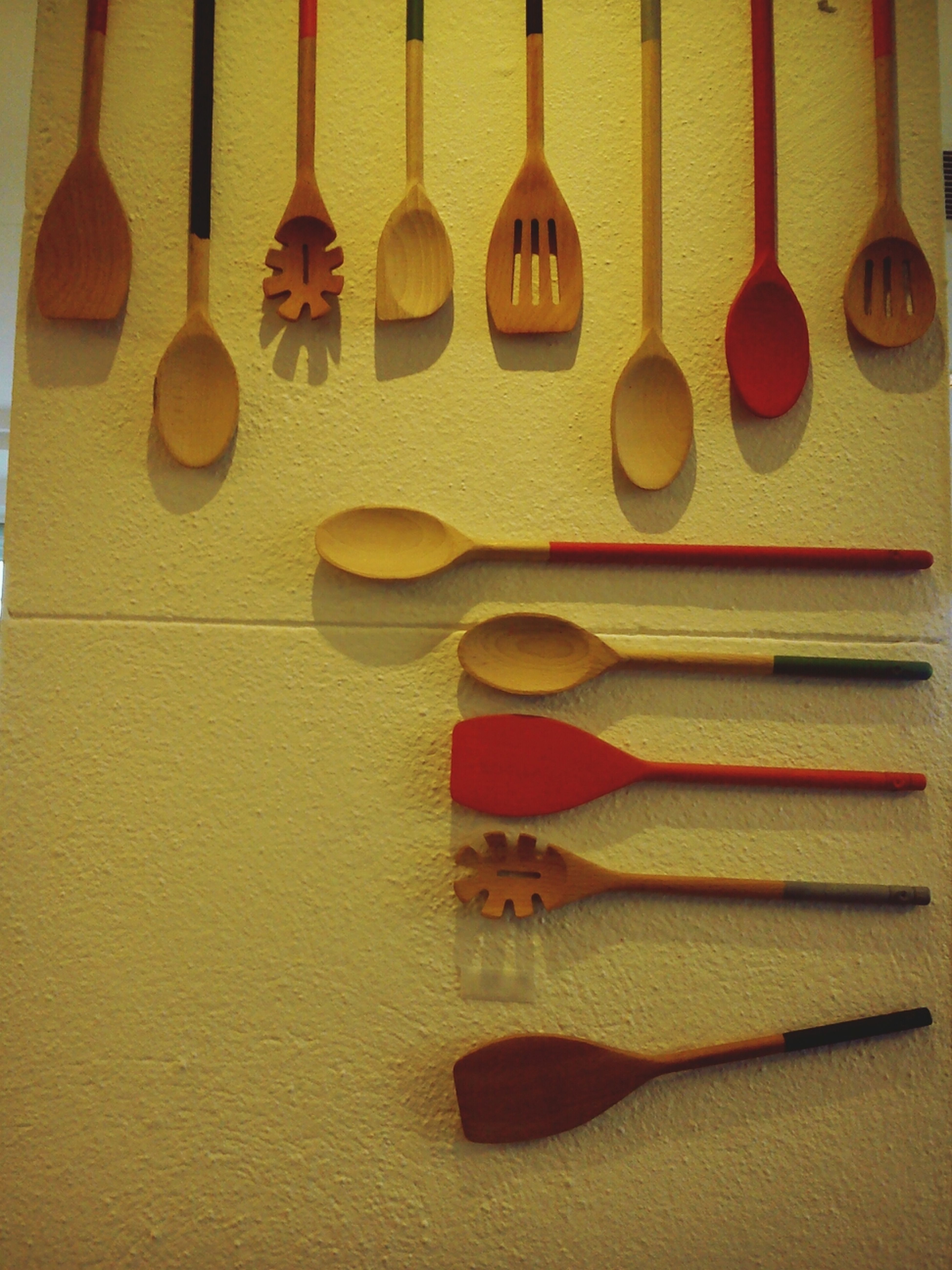 On the of the restaurant at Selfridged Kitchen Utensils Things Organized Neatly