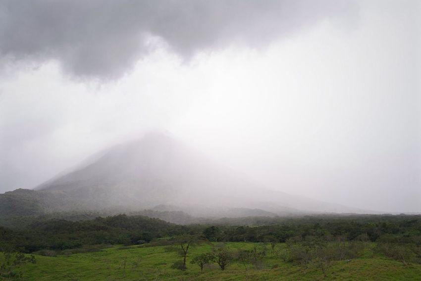 Volcano Costa Rica Rain Rainy Days Clouds Leicacamera Tropical Climate Tropical Rain Tropical Storm