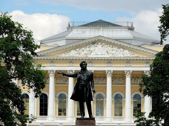 Sankt-peterburg Magic Place ☀️ Puskin Poet Russian Museum Russia Great Places In The World