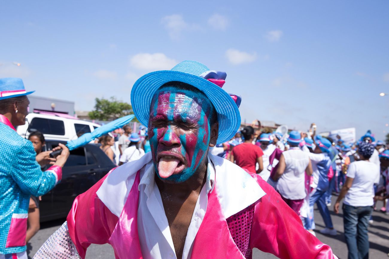 Practising for the Cape Town Carnival Celebration Large Group Of People Enjoyment Fun Outdoors Leisure Activity Music Festival Day Spectator Arts Culture And Entertainment Traditional Festival Clown Real People Carnival cCrowdeEventaAdults OnlypPeopleaAdultpParticipant