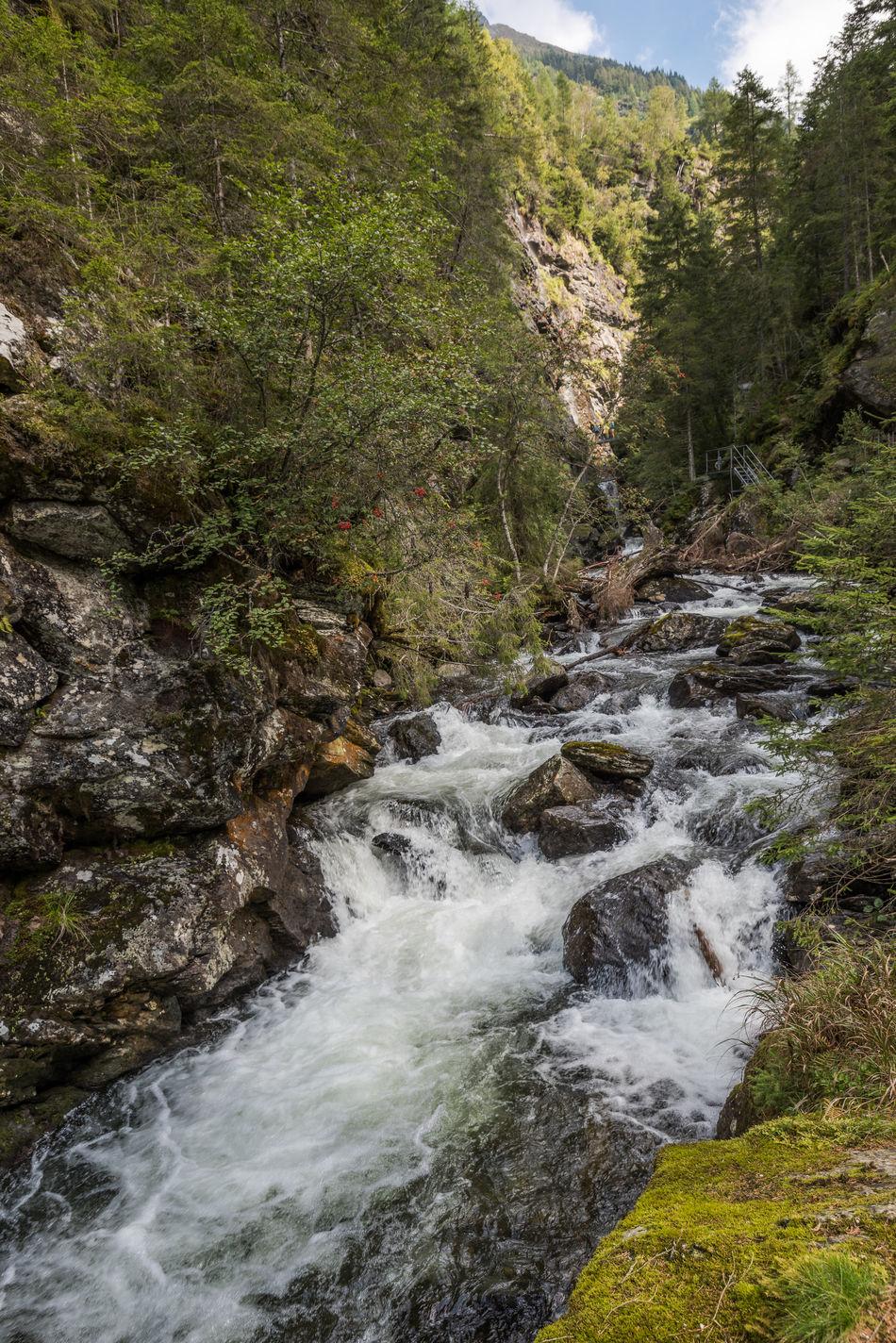 BACH Blau Bäume Fließendes Wasser Grün Landschaft Natur Steiermark Steine Tag Tal Wasser Wild Österreich