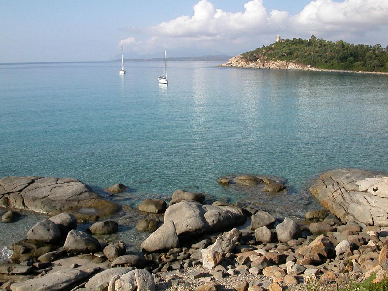 Porto Frailis, Sardegna, Italy Boat Cala Italy Mare Mare ❤ Porto Frailis Sardegna Sardinia Sardegna Italy  Sea
