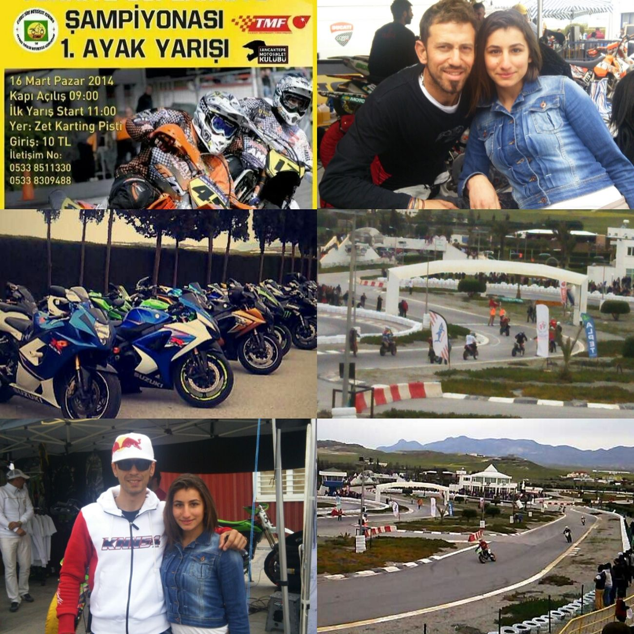 Hi! Motocross Race Enjoying Life with kenan sofuoglu and mehmet silahşör xxxx love <3 funy time x