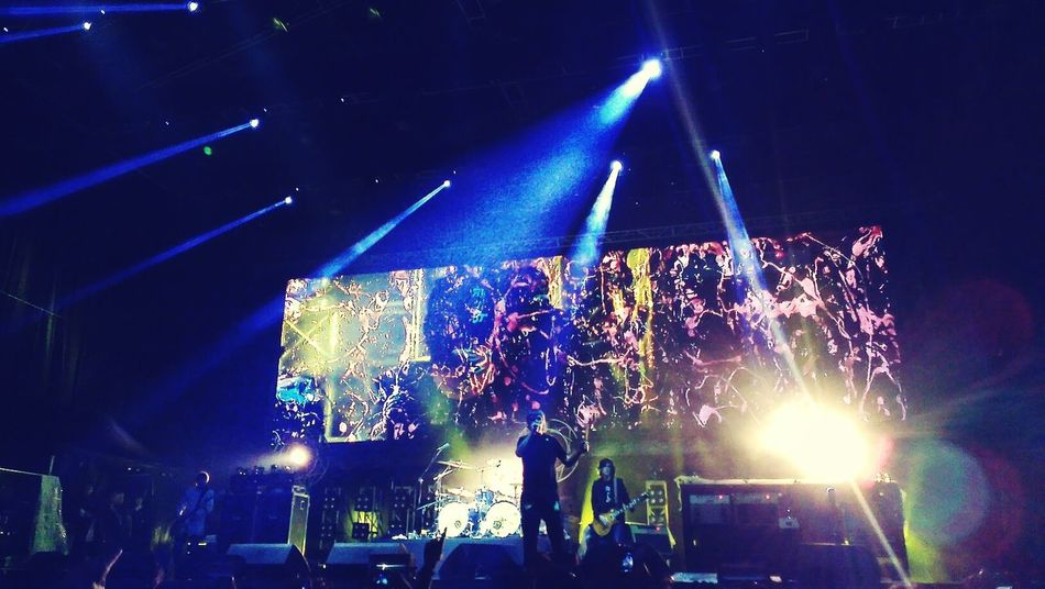 Bandswelove The Stone Roses live at Lapangan D Senayan, February 2013