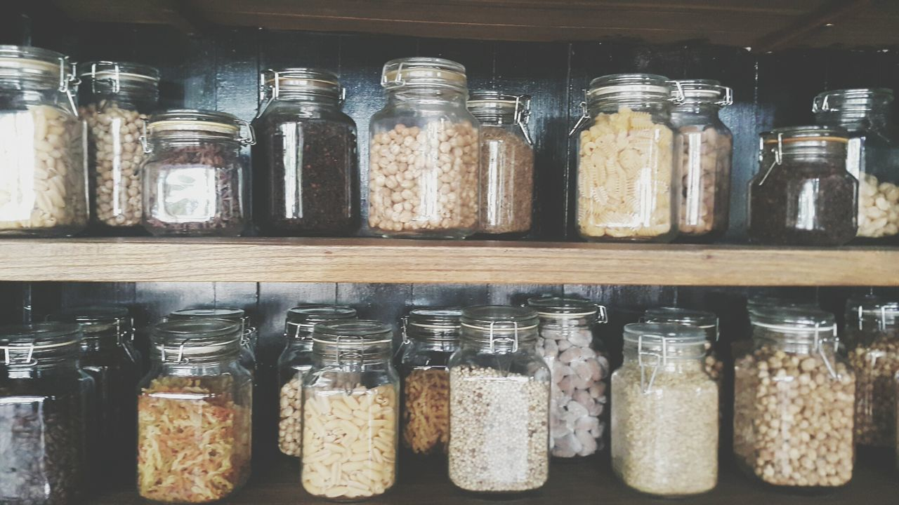 Grow old with you Seeds Spices Jars  Indonesianspices Ingredient In A Row Freshness Shelf Condiment Jar Foodphotography Foodie Food