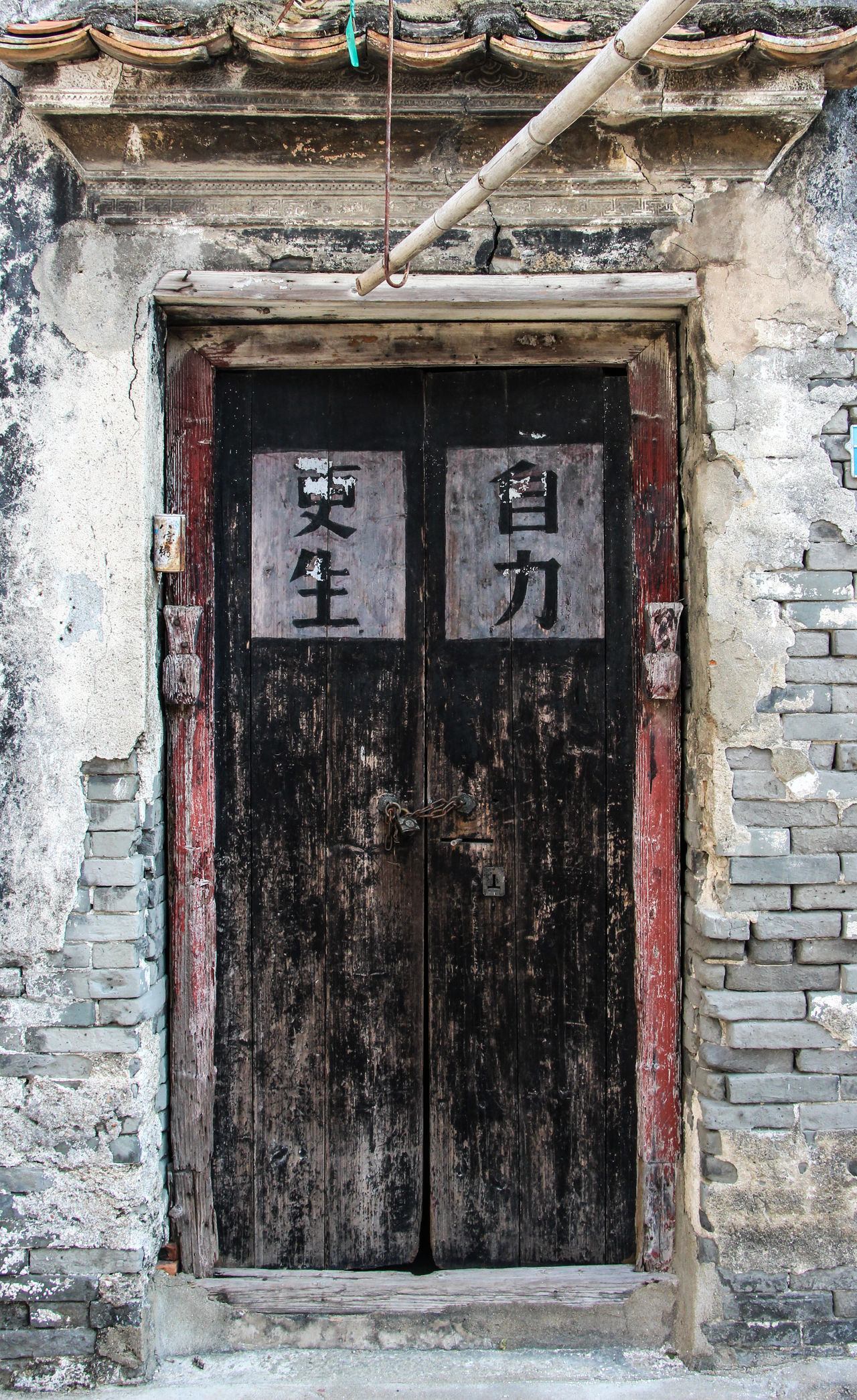Architecture Building Exterior Built Structure Chinese Chinese Culture Chinese Style Day Door Front Door No People Old Old Buildings Old Street Old Style Outdoors Qi'ao Wood Wood - Material Wooden
