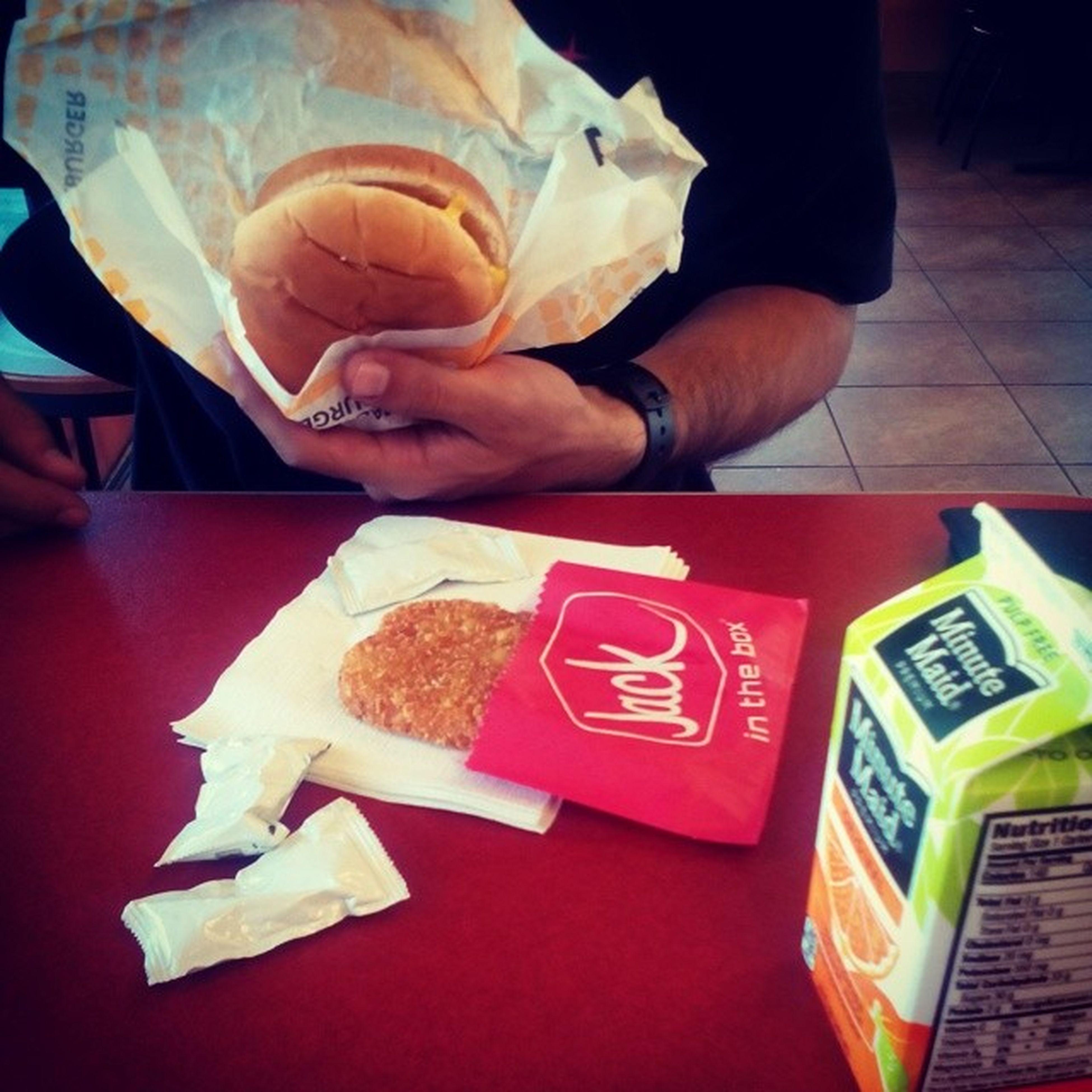 I think the breakfast speaks for itself ...JackInTheCrack Breakfast