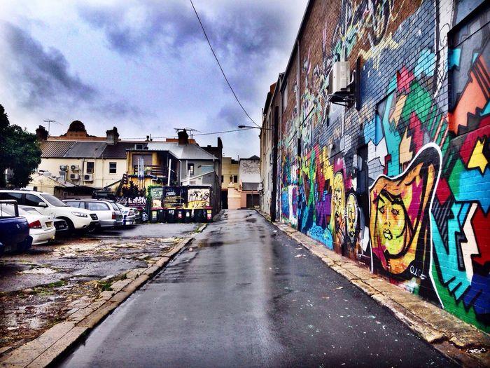 Newtown Funk Rain Grey Streetphotography Street Streetart Street Art Graffiti Urban Urban Geometry City