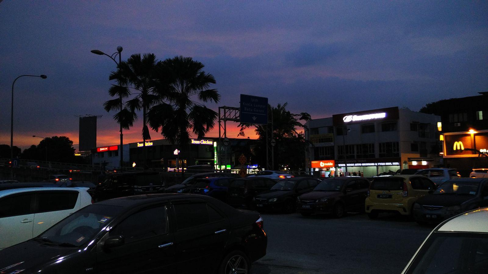 Town, Night, City