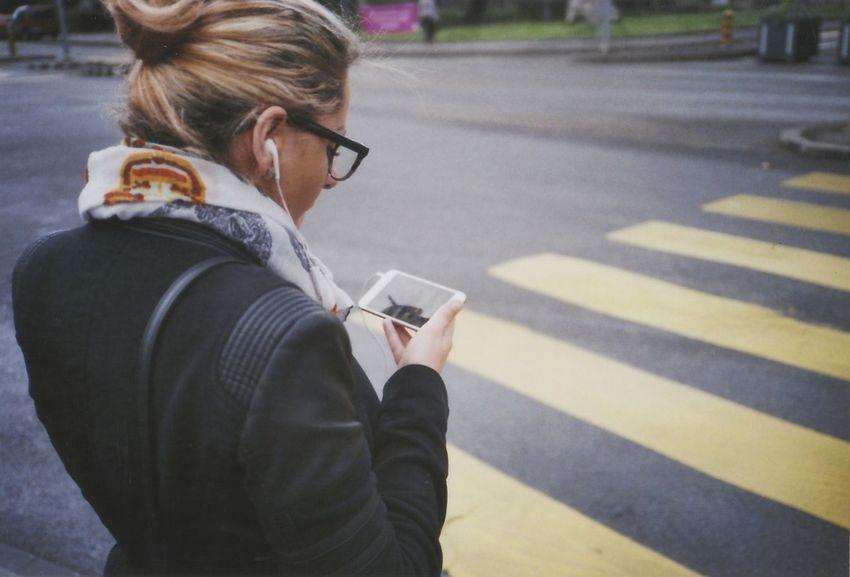 We can say no to this // Geneva, Switzerland Boycott City Life Close-up Lifestyles Phones Portrait Sidewalk Streetphotography