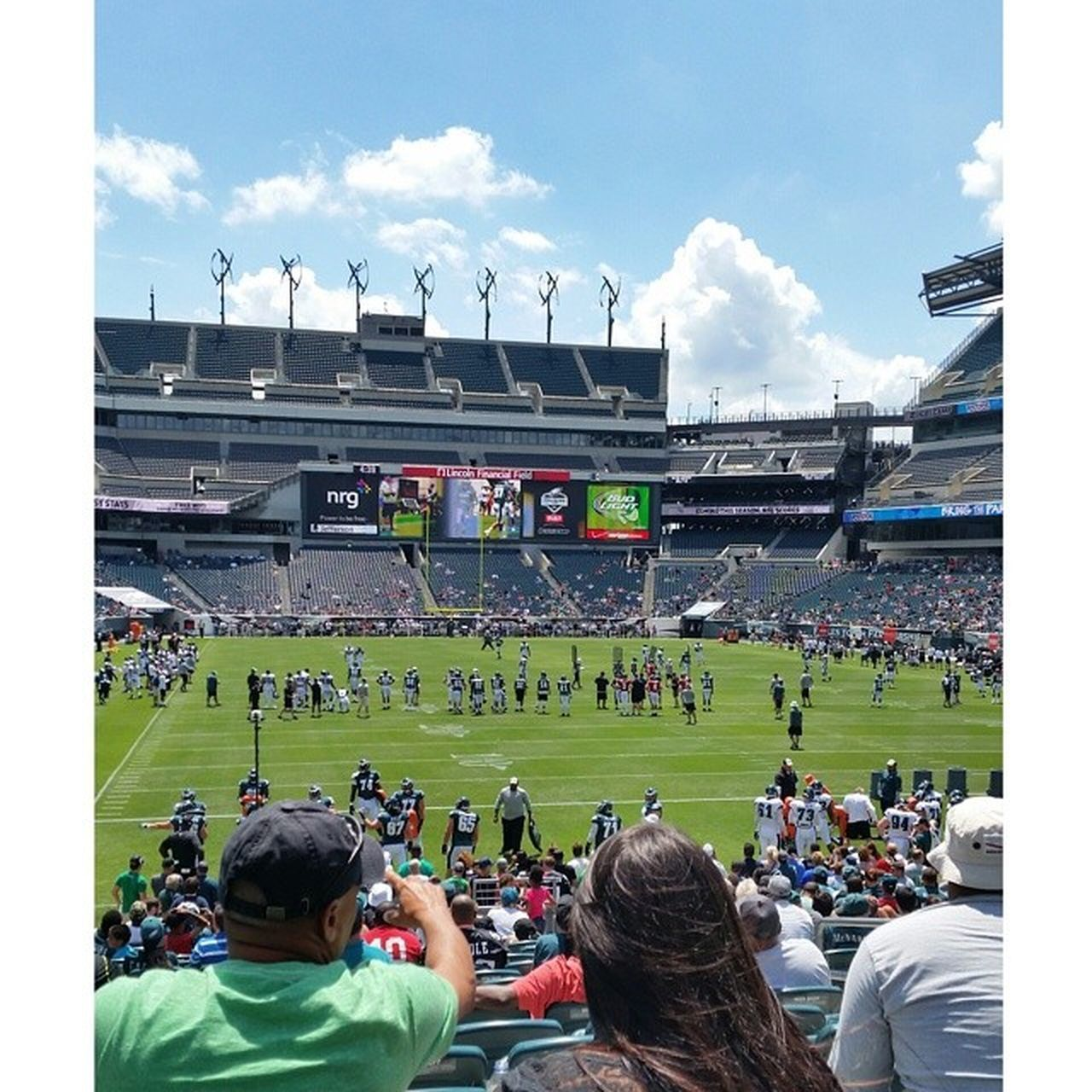 The Linc! Eagles Philly Football NFL NFL Football NFL Experience Trainingcamp 2014 Stadium Swarm EyeEm Best Shots Popular Photos Androidography Chilladelphia Getty X EyeEm Photography Photographer Eye Em Best Shots Scenic Philadelphia Philadelphia Eagles Visitphilly Visit Philly First Eyeem Photo