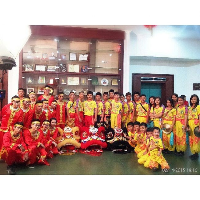 counting days to Chinese New Year Latepost 14022015 STBA_PIA Chinesedrum barongsaigroup aftershow