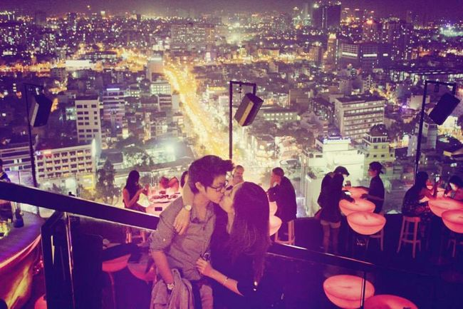Love Ioveyou Vietnam Together Happy Couple City View  Citylights Open Edit Couples❤❤❤