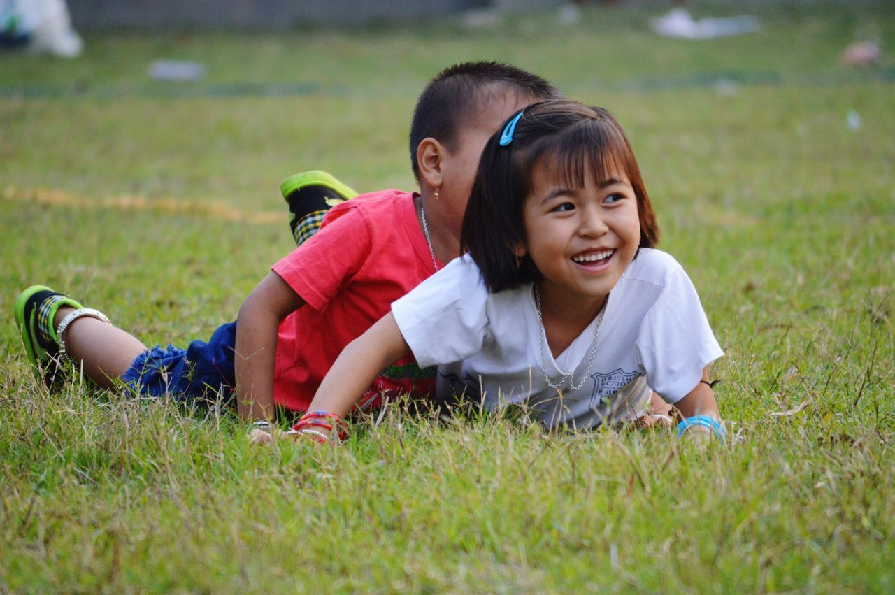 A little girl playing with a boy on ground with full of happiness. Clean mind, they cry, they smile, they laugh whenever they want. Everyday Emotion Everyday Emotions Everyday Emotion Close-up Smile Childhood Children Photography Children Playing Smile Happy Child Outside Beautiful Girl Girls Faces In Places Leisure Activity Leisure Time Happiness Enjoying Life The Photojournalist - 2016 EyeEm Awards Playing Play Playtime Fresh On Eyeem  Fresh On Eyeem  Capture The Moment Girl Power Girl Power ♥ Girl