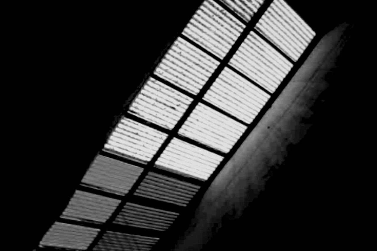 indoors, no people, close-up, black background, day