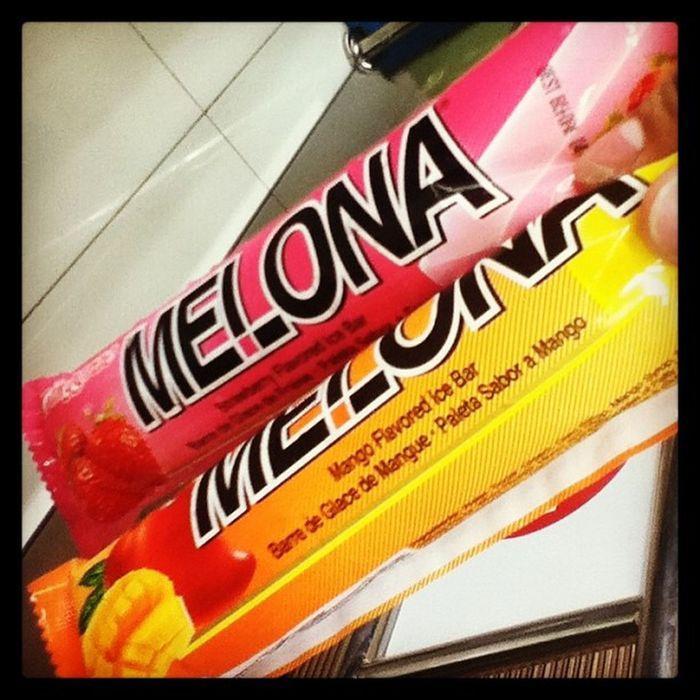 Crave! Crave! Crave! Melona Icecream Satisfied  😃☺😉😘😱💛❤💙💜💚✌🍦☀🇰🇷