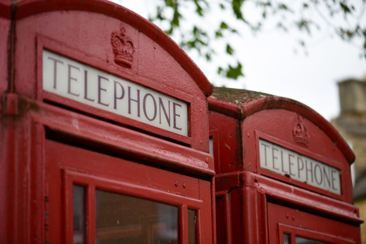 View Of Phone Booth