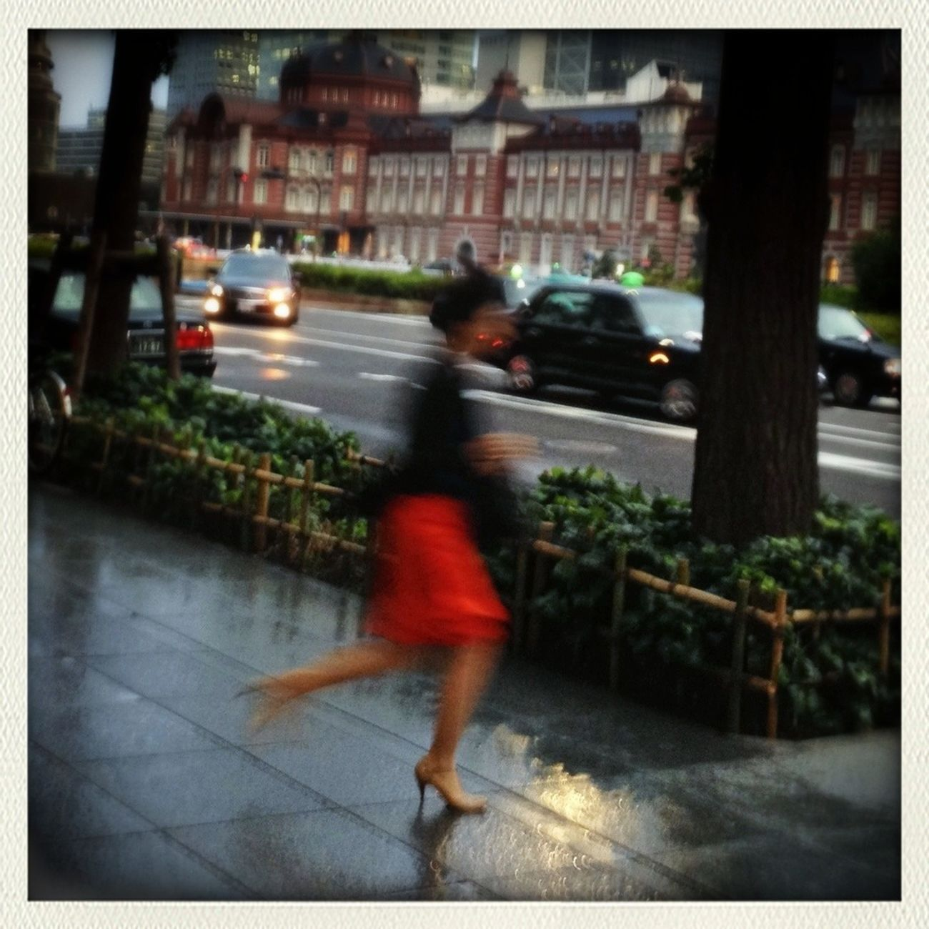 Streetphotography Street Life Woman In Red Streetphoto_color